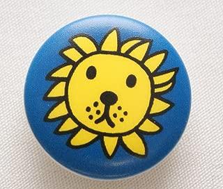 ブルーナ ボタン ライオン 20ミリ