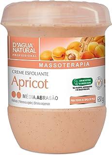 Creme Esfoliante Apricot Média Abrasão, D'agua Natural, 650 g