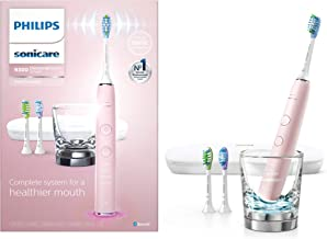 Philips Sonicare DiamondClean Smart 9300 Rechargeable Electric Toothbrush, Pink HX9903/21