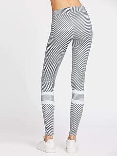 Antithetic Striped Leggings