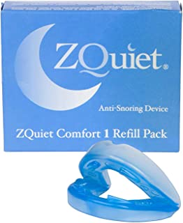 ZQUIET Anti-Snoring Mouthpiece Solution, Comfort Size #1 (Single Device, No Storage Case) - Made in USA & FDA Cleared, Nat...