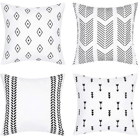 Modern Geometric Square Pillowcase Chair Sofa Car Cushion Cover Pillowslip