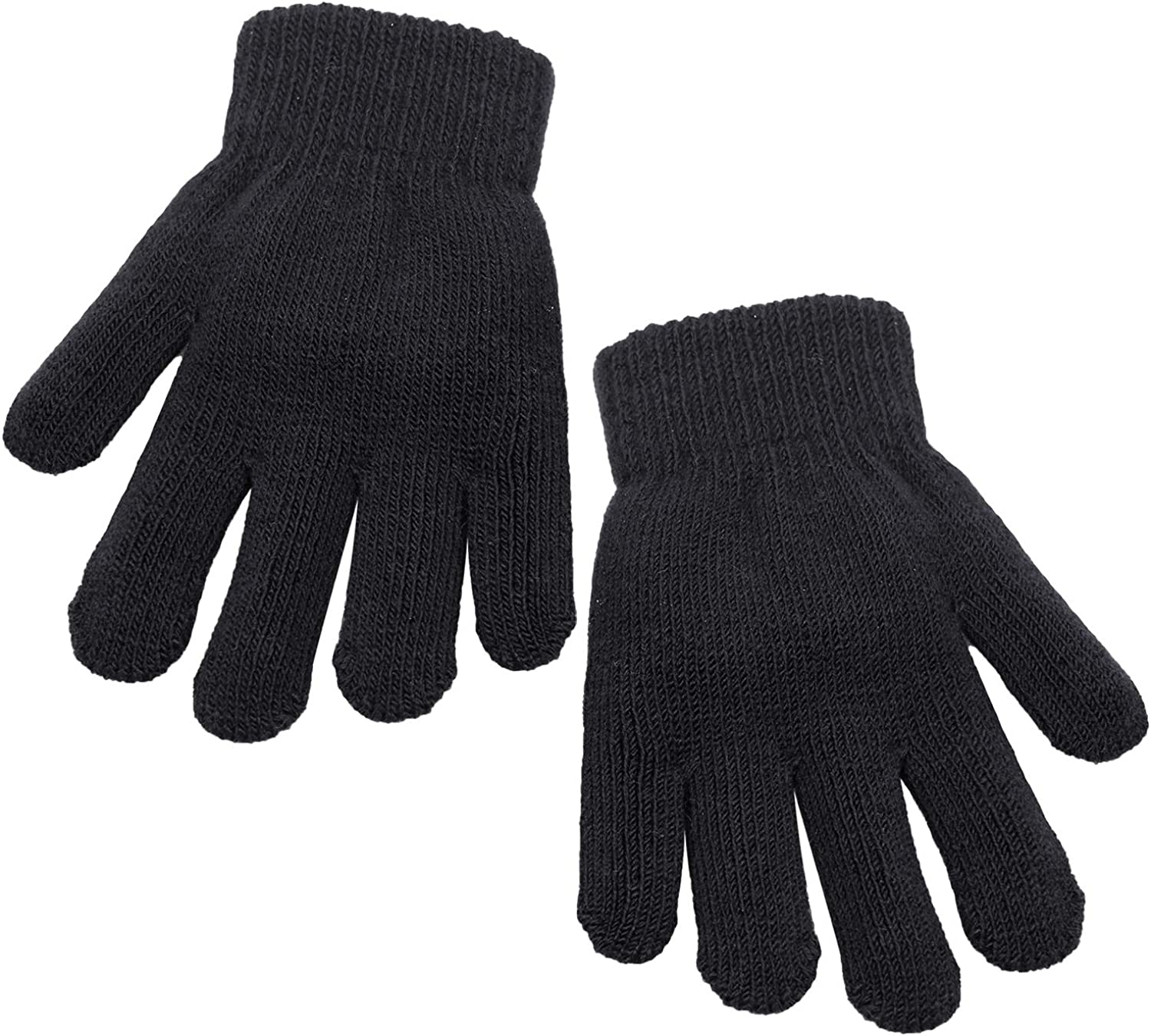 Milwaukee Mall Cooraby Kids Gloves Thick Winter Sale Knitted Stretchy Full Fi