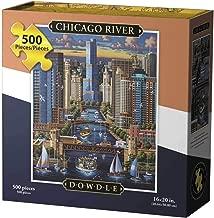 Dowdle Jigsaw Puzzle - Chicago River - 500 Piece