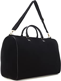 Limited Time Sale - Women's Velvet Weekender Bag, Duffle Bag, Overnight Bag, Travel Bag, Luggage MSRP $99