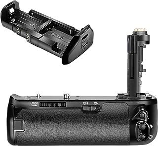 Neewer Pro Empuñadura de Batería de Cámara Reemplazo para Canon BG-E21 para 6D Mark II DSLR Cámara Funciona con 1 o 2 LP-E6 Batería de Ion de Litio Recargable (Batería NO Incluida)