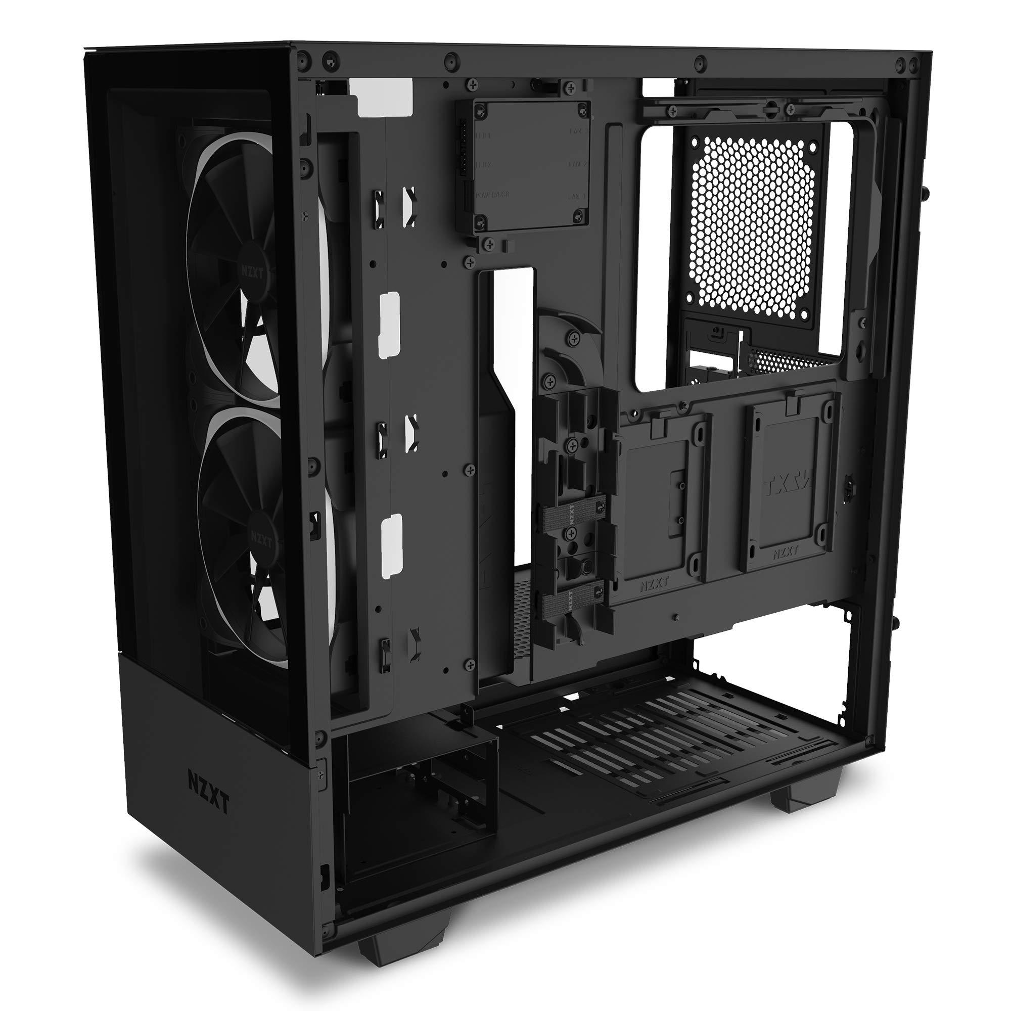 NZXT H510 Elite - Caja PC Gaming Semitorre Premium ATX - Doble ...