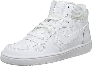 Nike Men's Court Borough Mid (Gs) Basketball Shoes, Black, 3.5 UK