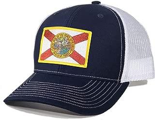 Men's Florida Flag Patch Trucker Hat