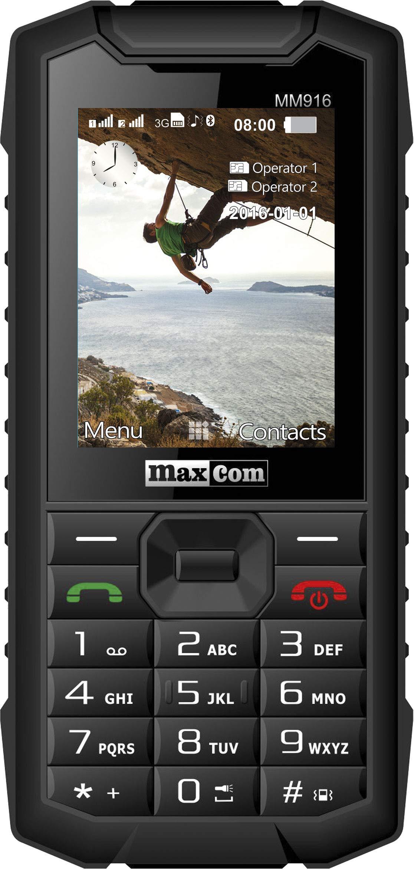 MaxCom MM916 - Móvil rugerizado Dual SIM con pantalla de 2.4 ...