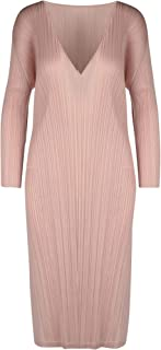 PLEATS PLEASE ISSEY MIYAKE Luxury Fashion Womens PP06JH12623 Pink Dress | Spring Summer 20