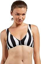 Volcom Women's Stripe Club Halter Bikini Top