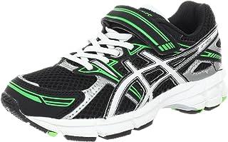ASICS GT-1000 PS Running Shoe (Toddler/Little Kid/Big Kid),Black/White/Electric Apple,1 M US Little Kid