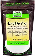 NOW Foods Erythritol Natural Sweetener, 16 Ounce (Pack of 1)