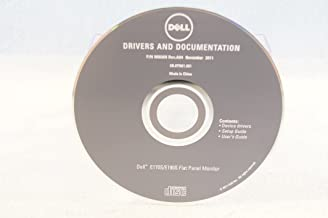 Dell Drivers and Documentation E170S/E190S Flat Panel Monitor Driver Disc - PC Computer Program Software Install Disc Driver Part Number #M856N Rev. A04 Novmber 2011