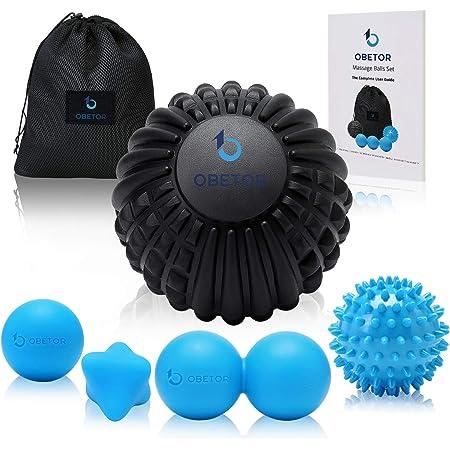 Grid Roller /& Massage Ball 7cm Set Reflexology Therapy Trigger Point Blue