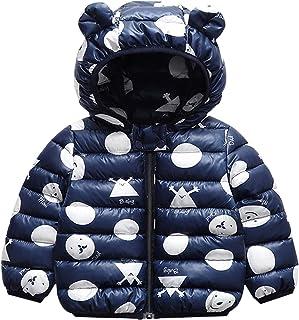 Bambini Invernale Piumino, Cappotto con Cappuccio Snowsuit Manica Lunga Outfits Giubbotto Giacca Outwear Vestiti Regalo 6 ...