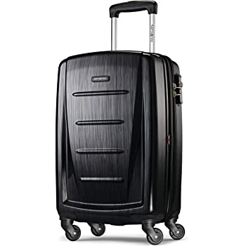 Samsonite Winfield 2 Hardside Expandable Luggage with Spinner Wheels, Brushed Anthracite, Carry-On 20-Inch