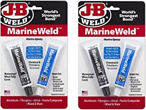 J-B Weld 8272 MarineWeld Marine Epoxy - 2 oz, 2 Sets