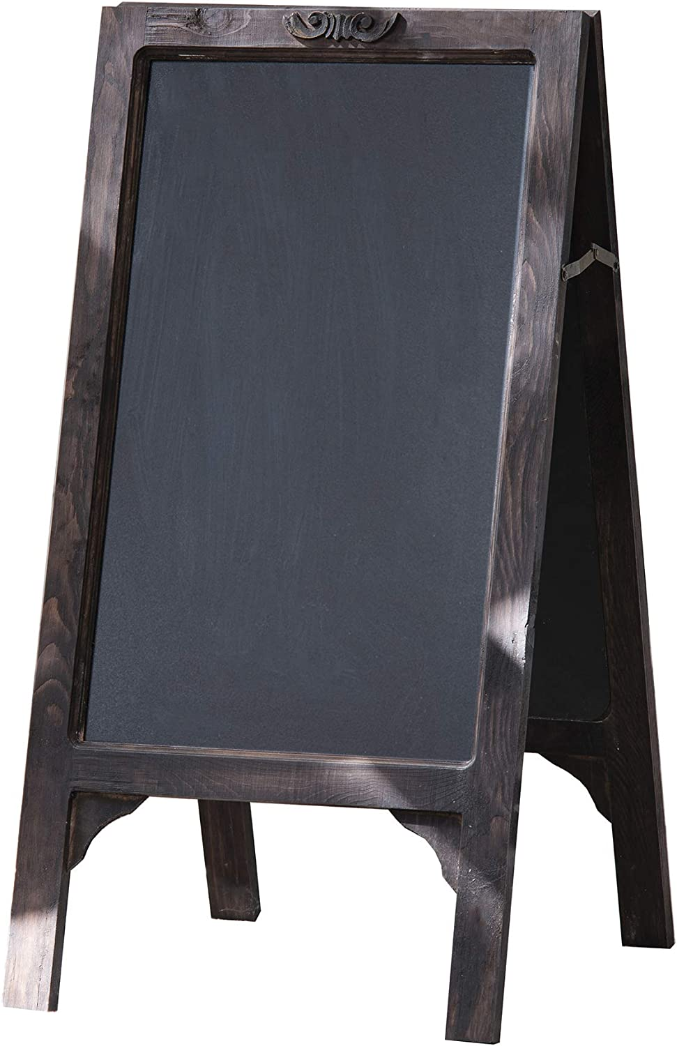 AB Home Decor Wooden Framed Standing Chalkboard Sign 20x25 inch