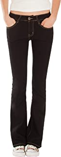Fraternel Pantalones Vaqueros Mujer Corte Bota Boot-Cut
