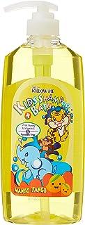 Follow Me 2In1 Kids Shampoo and Bath, Mango Tango, 800ml