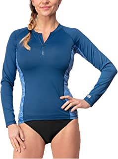 Women's Rashguard - UPF 50 UV Sun Protection - Wetsuit Quick Dry Activewear