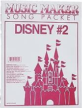 European Expressions Intl Disney #2 Music Maker Song Sheet