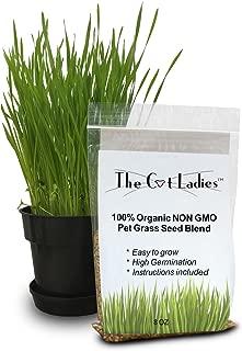 100% Organic Cat Grass Seed (Non GMO)