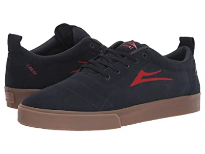 Lakai Bristol (Navy/Red Suede) Men
