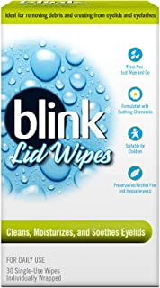 Blink Lid Wipes, 30 Little Single Use Wipes