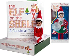 The Elf on the Shelf: A Christmas Tradition Girl Scout Elf (Brown Eyed) with Claus Couture Collection Superhero Girl Outfit