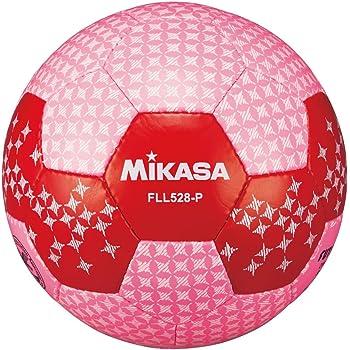 ミカサ(MIKASA) フットサル 日本サッカー協会検定球5号(一般・大学・高生・中学生用) ピンク 手縫いボール FLL528-P [並行輸入品]
