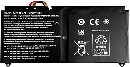 Binger New AP13F3N Relpacement Laptop Battery Compatible with Acer Aspire S7-392 Ultrabook Series AP13F3N 2ICP4/63/114-2