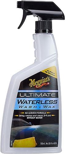 Meguiar's G3626F Shampoing Sans Eau (Wash & Wax Anywhere), 768 ml