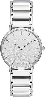 Rebecca Minkoff Women's Quartz Watch with Stainless Steel Strap, Silver, 16 (Model: 2200258)