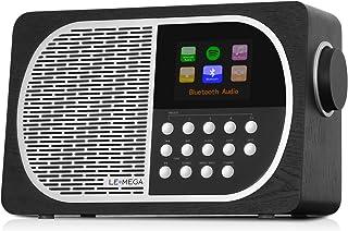 LEMEGA M2+ Table Smart Radio Wi-Fi, Internet Radio, Spotify, Bluetooth, DLNA, FM Radio, Clock, Alarms, Presets Wireless Ap...