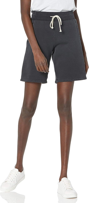 Goodthreads Women's Heritage Fleece Bermuda Short