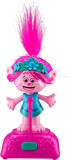 Trolls World Tour Poppy Singing and Dancing to Music and Sound Kids Toys Fun Built in Music from Movie, for Kids Desk Bedroom Home Musical Figure Poppy