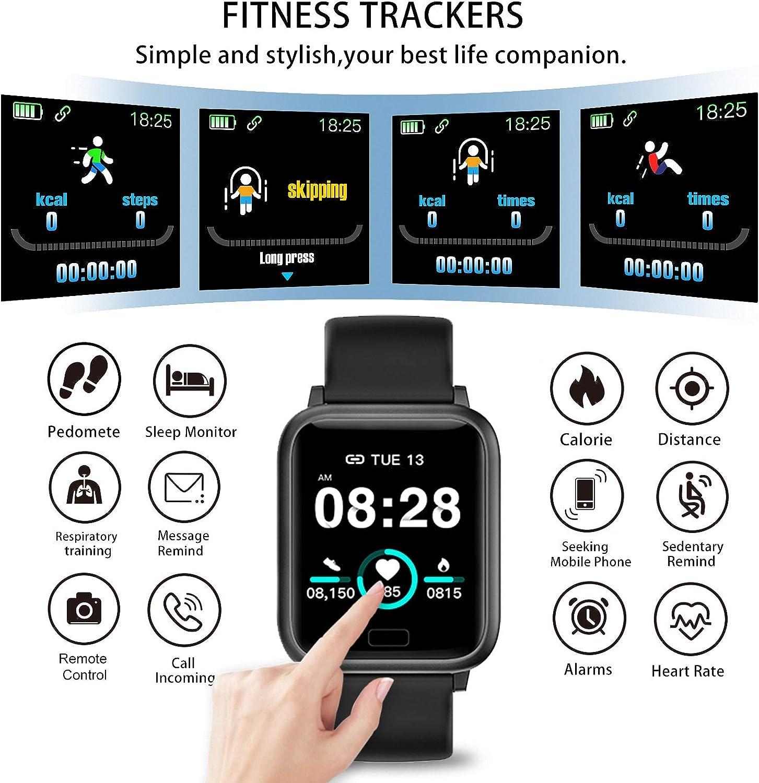 miniature 2 - Smart Watch Fitness Tracker BP fréquence cardiaque étape Calorie Sommeil Moniteur Étanche