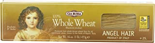 Gia Russa Whole Wheat Angel Hair, 16-Ounces (Pack of 5)