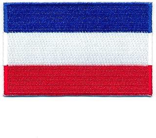 60 x 35 mm Niederlande Flagge Flag Amsterdam Patch Aufnäher Aufbügler 1000 B