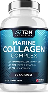 Marine Collagen Capsules 1750mg+ Complex - with Hyaluronic