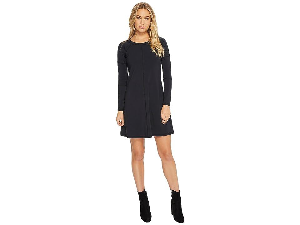 Alternative Cotton Modal Spandex Party Time Dress (Black) Women