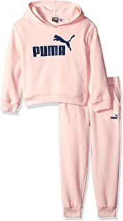 PUMA Girls' Fleece Hoodie Set