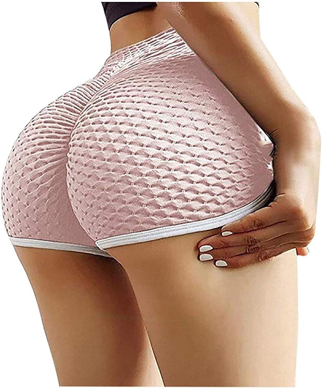 Gwewei4df 2PC TIK Tok Women High Waisted Yoga Pants Workout Legg