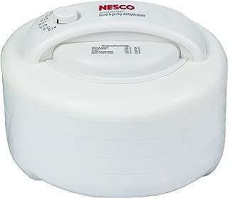 NESCO FD-60, Snackmaster Express Food Dehydrator, White, 500 watts