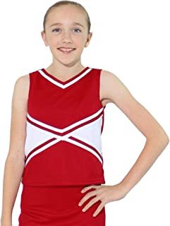 Danzcue Womens Classic Cheerleaders Uniform Shell Top