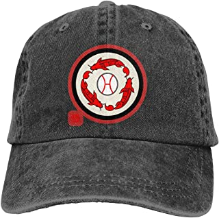Hiroshima Carp Sengoku Denim Hats Cowboy Hats Dad Hat