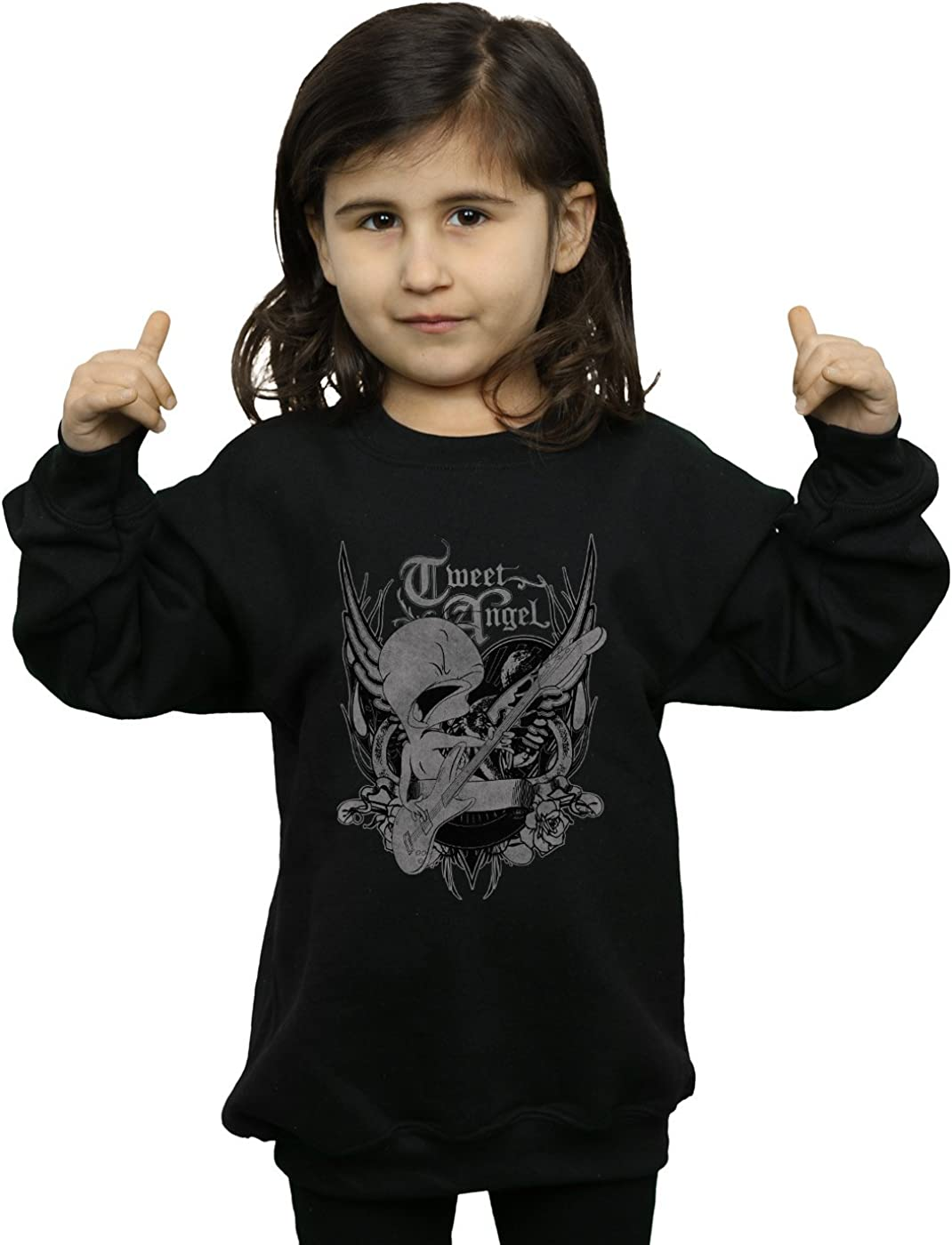 Looney Tunes Girls Tweety Pie Rock Sweatshirt